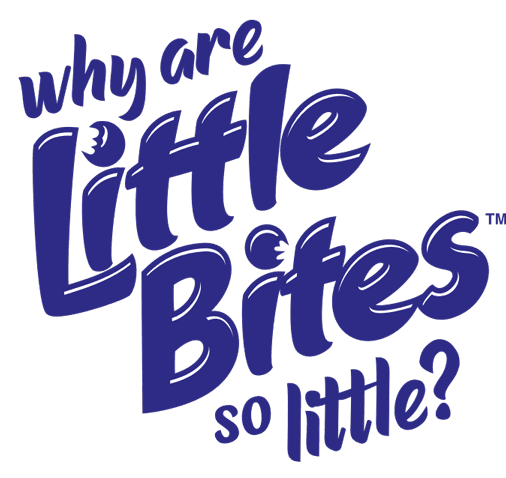 logo why little bites are so little